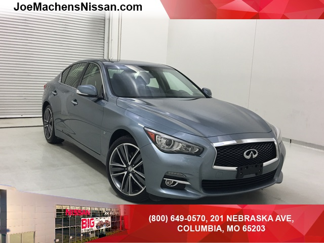 Pre Owned 2015 INFINITI Q50 Premium 4D Sedan in Columbia UC